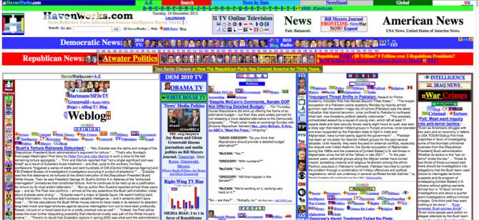 Havenworks Worst Website Design