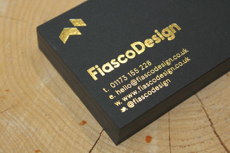 Fiasco Design Business cards