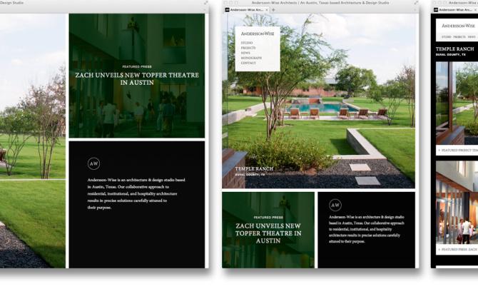 Responsive Site Architecture