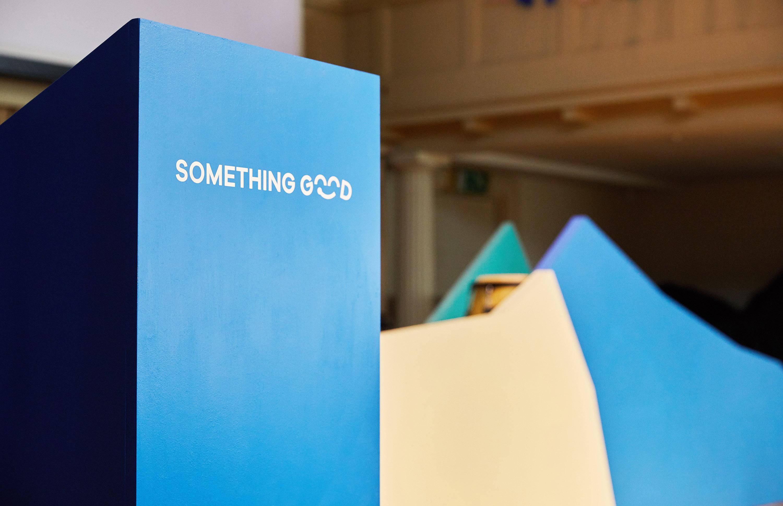 Lectern design for Something Good design festival by Fiasco Design