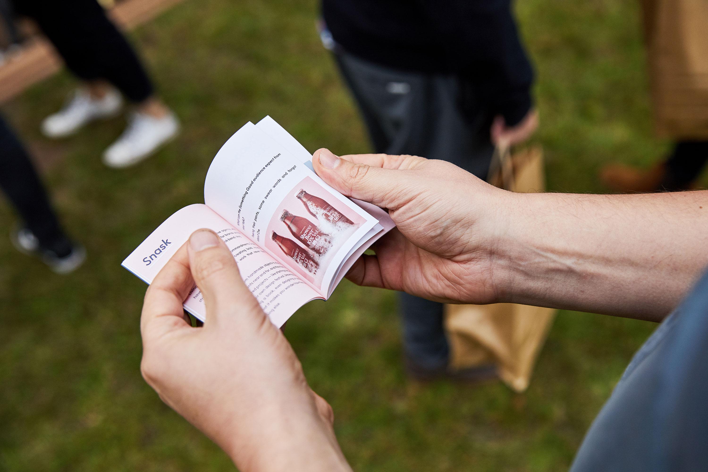 Programme design for Something Good design festival by Fiasco Design