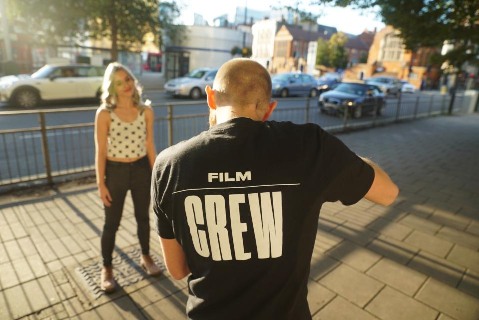Brand tshirt design for Clockwise by Fiasco Design
