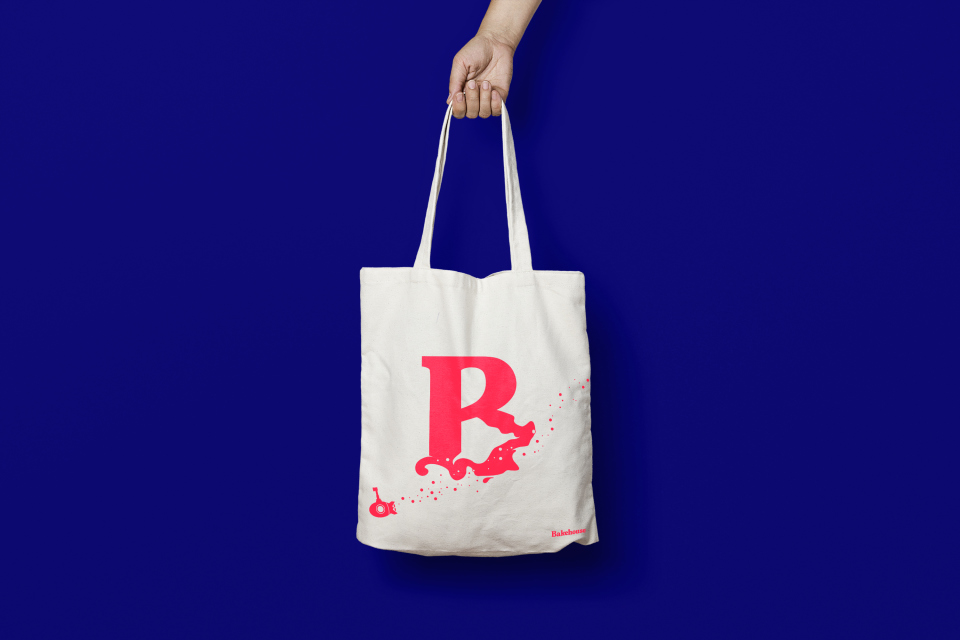 bakehouse tote bag design by fiasco design