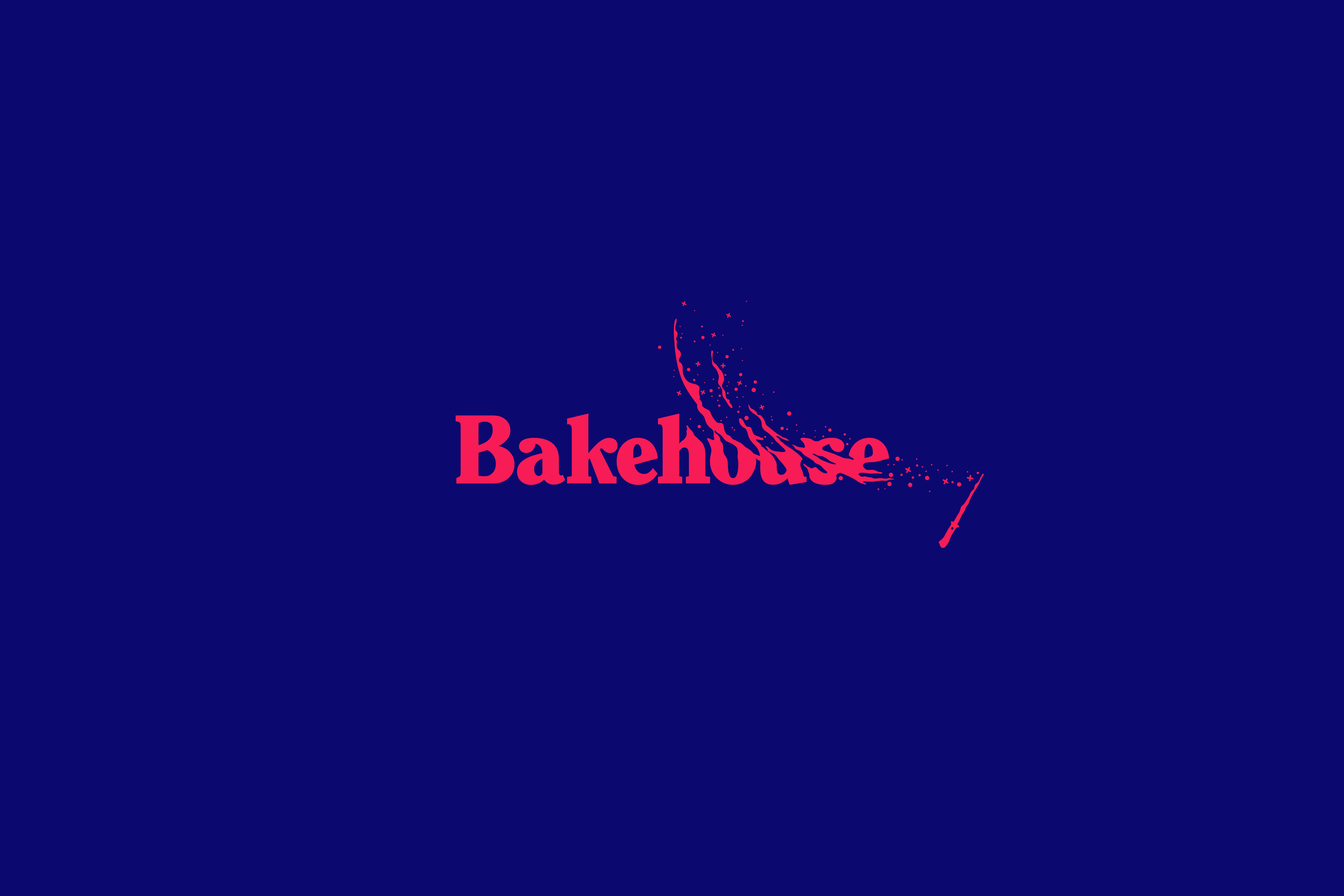 animated bakehouse logo – wand version – by fiasco design