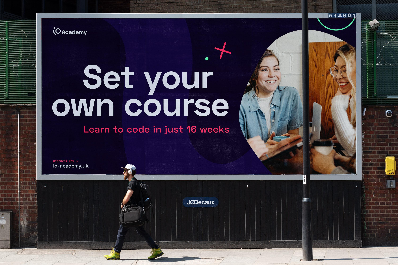 Billboard poster design