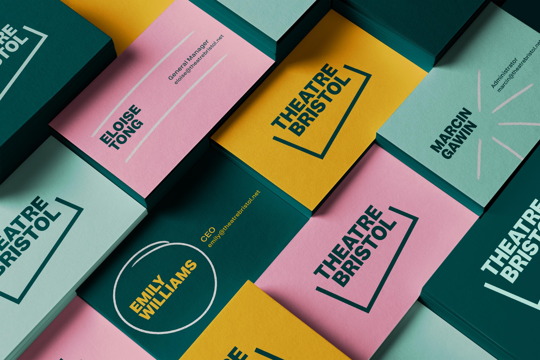 Theatre Bristol Business Cards