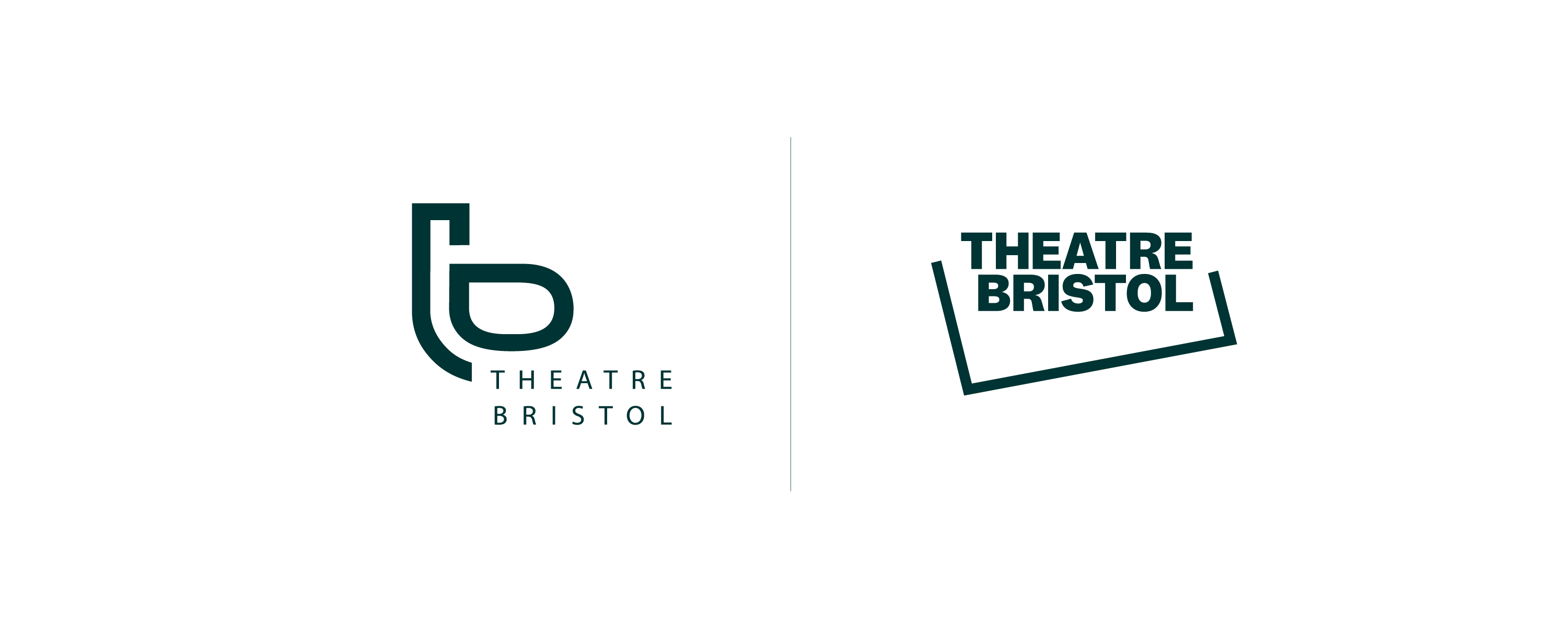 Theatre Bristol Logo Before and After