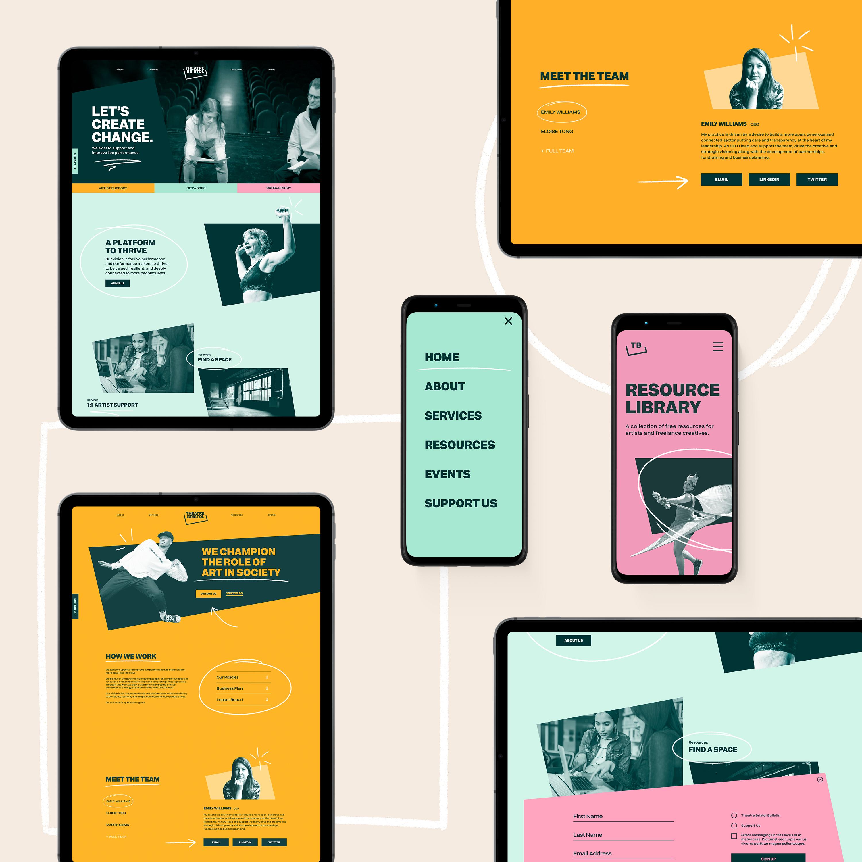 Theatre Bristol User Interface